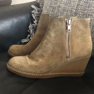 J. Crew Wedge Booties